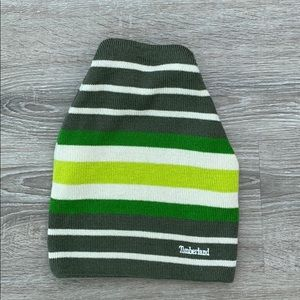 ❤️ Timberland green striped beanie 💚🤩